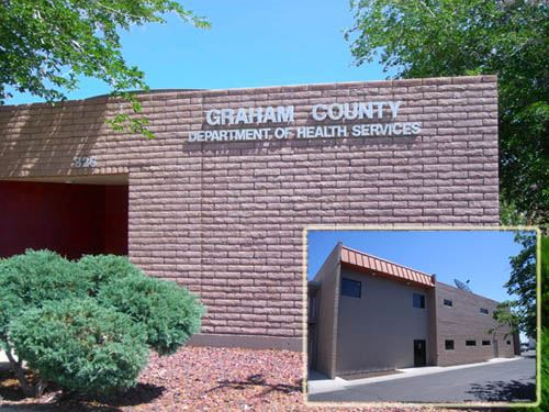 Graham County Department of Health Services building