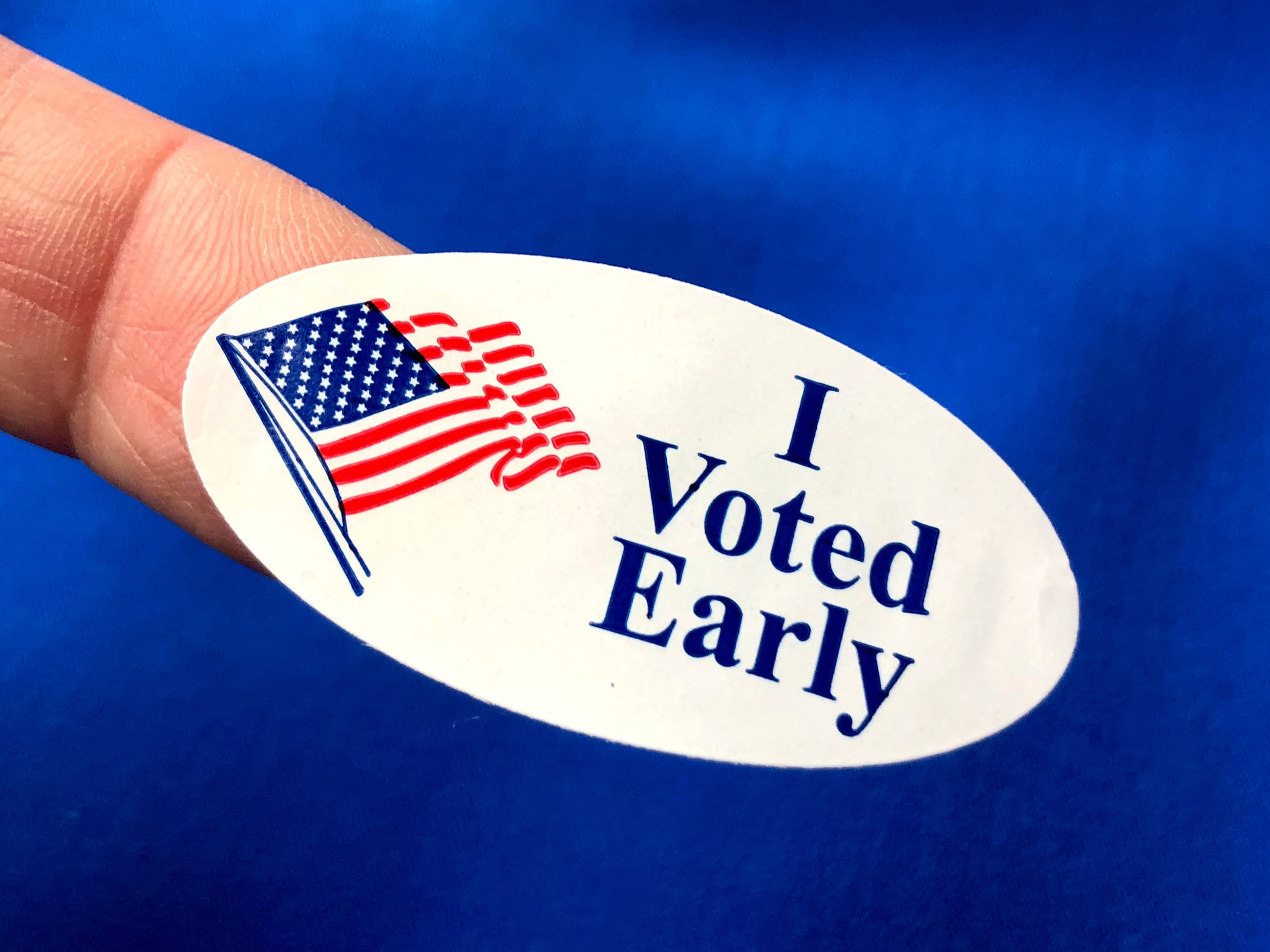 Voted Early Sticker
